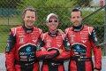 Longin, Kumpen en Beliën met Wolf GB08 naar Belcar Trophy