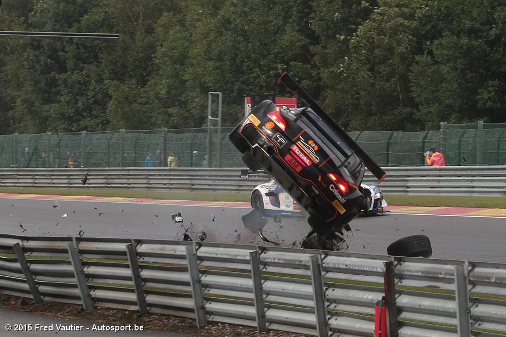 24h Spa Crashes Van De Boutsen Ginion Bmw En Duqueine