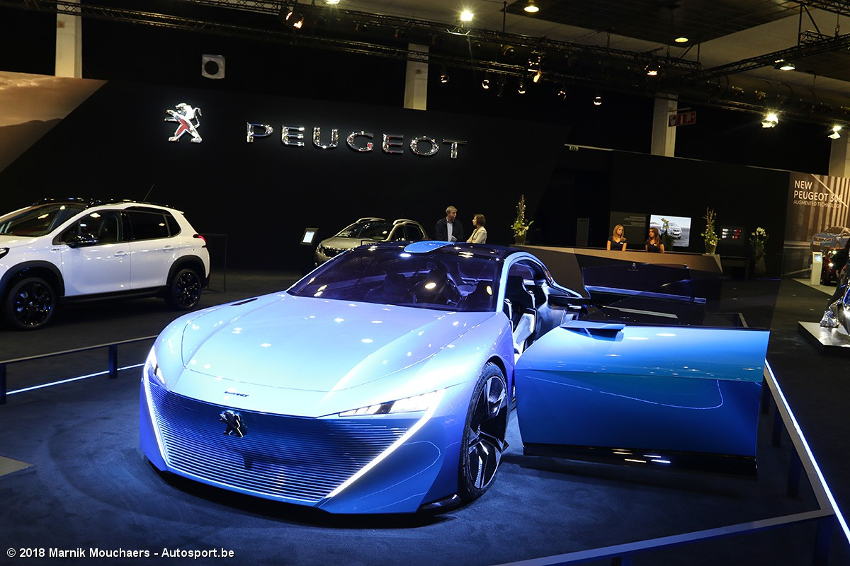 European Motor Show Brussels 2018 De Concept Cars