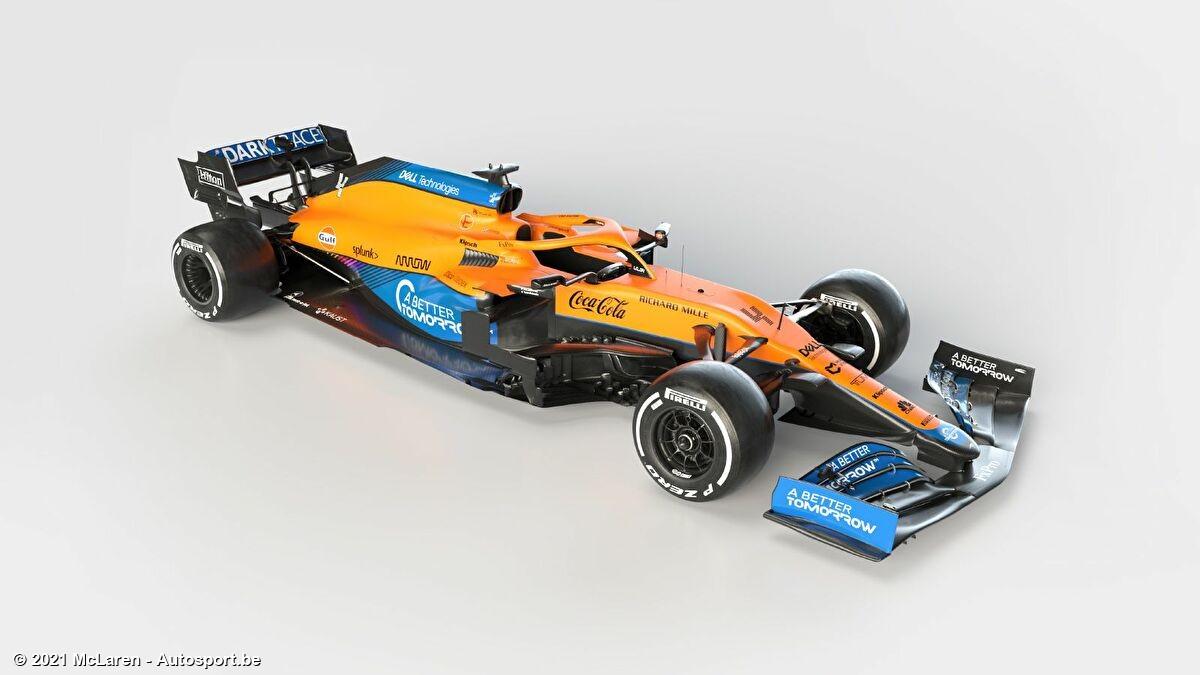 McLaren toont 2021 wagen in online live stream - Autosport.be