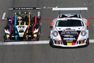 Bas Koeten Racing - Wolf GB08 vs. Belgium Racing - Porsche 991 GT3 Cup
