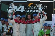24H Zolder: De finish en de podia