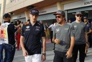 Max Verstappen, Fernando Alonso & Stoffel Vandoorne