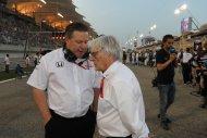 Zak Brown & Bernie Ecclestone