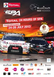 24 Hours of Spa 2013