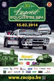Legend Boucles de Spa 2014