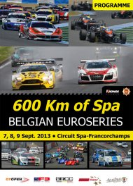 600 km of Spa 2013