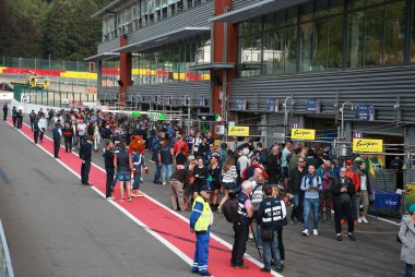 Pitwalk 2019 ELMS 4 Hours of Spa