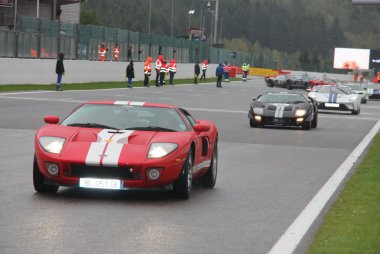 Ford GT parade