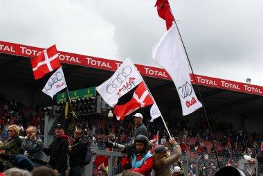 Beelden uit de 24 Uur van Le Mans 2013