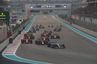 Start 2019 F1 Grote Prijs van Abu Dhabi