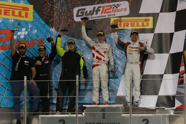 GT Cup 1 Podium Gulf 12 Hours 2019