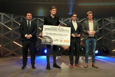 Top drie Junior Belgian Rally Championship