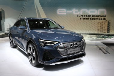 Brussels Motor Show 2020 - Audi E tron