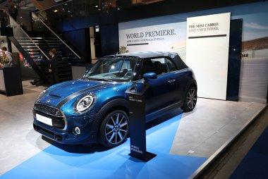Brussels Motor Show 2020 -  Mini Cabrio