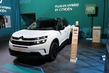 Brussels Motor Show 2020 - Citroën Hybride plugin