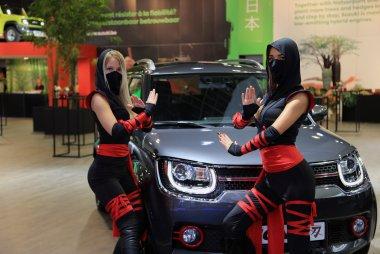 Brussels Motor Show -  De racewagens en randanimatie