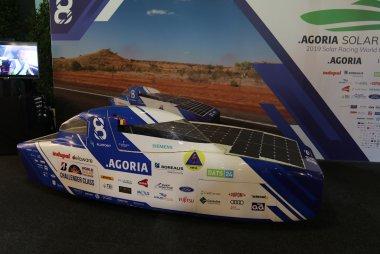 Brussels Motor Show 2020 - Agoria Solar