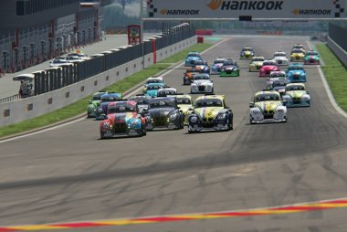 Start 2020 VW e-Fun Cup Spa