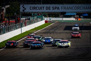 Start 2020 Ferrari Challenge Europe Trofeo Pirelli Race 1