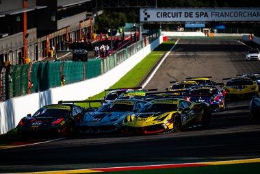 Start 2020 Ferrari Challenge Europe Coppa Shell Race 1