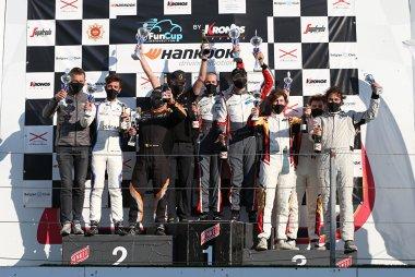 Podium VW Fun Cup Benelux Open Races Evo 3