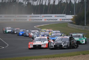 Start 2020 DTM Zolder II Race 2