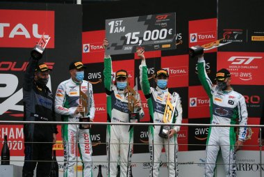 2020 Total 24 Hours of Spa Podium AM