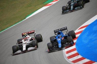 Fernando Alonso en Antonio Giovinazzi