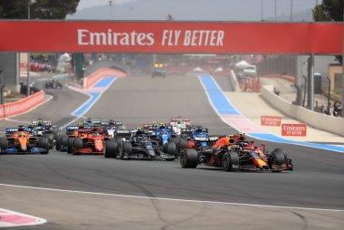 Start 2021 F1 Grote Prijs van Frankrijk