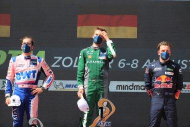 Podium 2021 DTM Zolder Race 2
