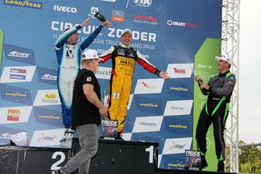 Podium Ford Fiesta Sprint Cup Be race 2 Zolder Truck