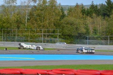 Crash tussen Algarve Pro Racing & Spirit of Race