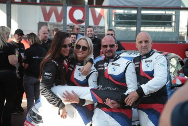 Eveline Maes, Sandra van der Sloot, Ward Sluys en Patrick Michiels
