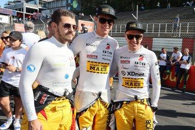 Giorgio Maggi, Christoff Corten en Stienes Longin