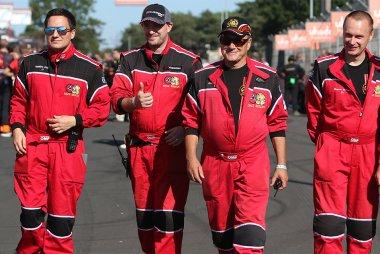 Safety crew 2021 Belcar 24 Hours of Zolder