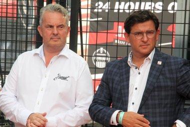 Harry Steegmans (CEO Circuit Zolder) - Mario Borremans (Burgemeester Heusden-Zolder)