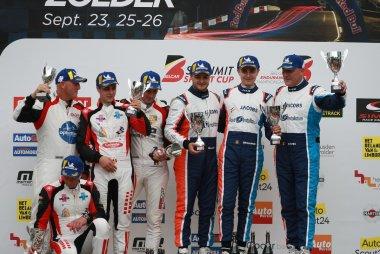 Podium 2021 Belcar 24 Hours of Zolder GTB