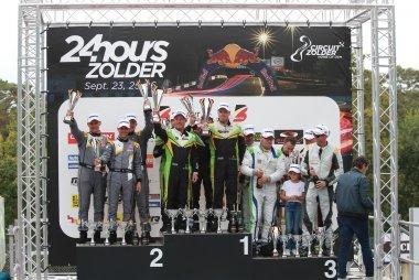 Podium 2021 Belcar 24 Hours of Zolder TA