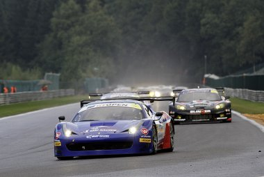 600 Km Spa: Beelden van de GT Open race op zondag