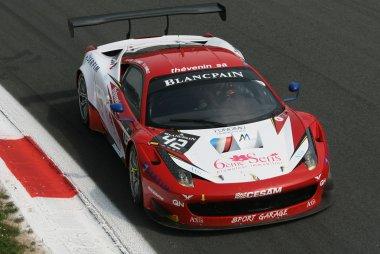 Monza: de Belgen in actie