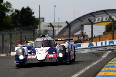 De testdag voor de 24h van Le Mans in beeld gebracht