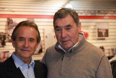 Tentoonstelling Jacky Ickx - Eddy Merckx 70 jaar