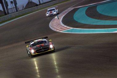 Abu Dhabi Racing by Black Falcon - Mercedes SLS AMG GT3 vs. GDL Racing - Porsche 991 GT3 Cup