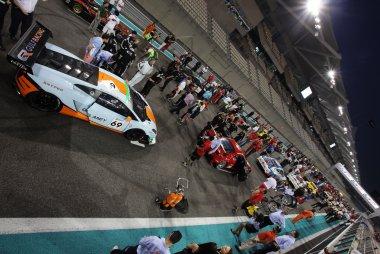 Startgrid race 2 Gulf 12 Hours 2014