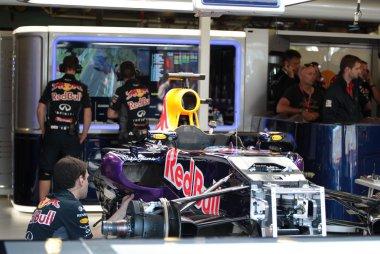 opbouw Red Bull Racing GP Australië 2015