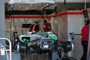 opbouw Manor Marussia GP Australië 2015