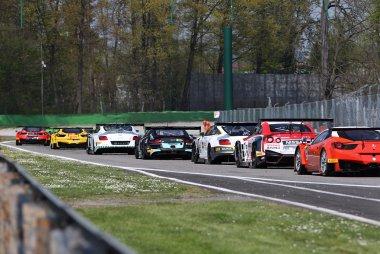 2015 Blancpain Endurance Series Monza pace lap