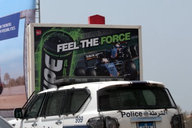 reclame Force India GP Bahrein 2015