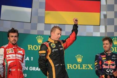 Fernando Alonso - Kimi Räikkönen - Sebastian Vettel